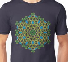 Psychedelic jungle kaleidoscope ornament 28 Unisex T-Shirt