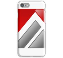 abstract-logo-A-alphabet iPhone Case/Skin