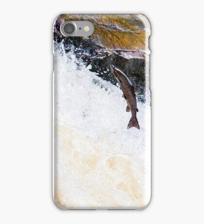 Flying Salmon iPhone Case/Skin