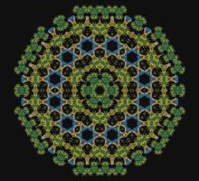 Psychedelic jungle kaleidoscope ornament 29 T-Shirt
