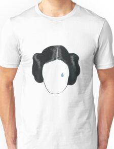 princess leia tribute  Unisex T-Shirt