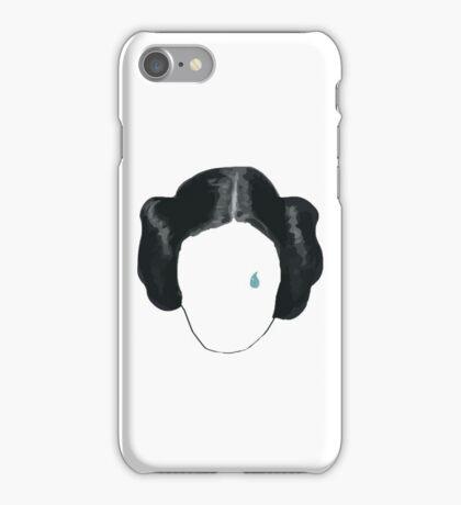 princess leia tribute  iPhone Case/Skin