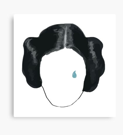 princess leia tribute  Canvas Print