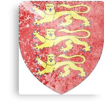 England Coat of Arms Canvas Print