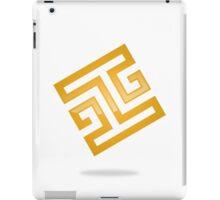 abstract-square-alphabet-H-logo iPad Case/Skin