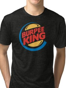 Burpee King Fitness Tri-blend T-Shirt