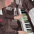Piano Passion by AinsleyKnott