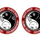 Bubba Zen Headphone Decals by G. Patrick Colvin
