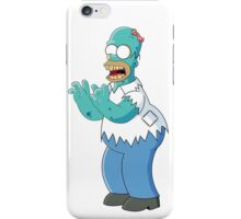 Homer Simpson Zombie  iPhone Case/Skin