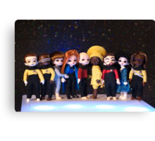 Teeny Trek Canvas Print