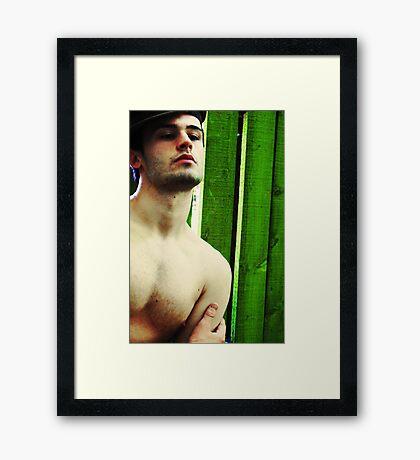 Tye Matthew Harris Framed Print