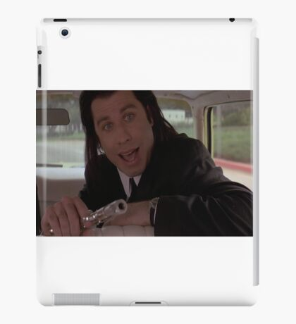 Vince Vega Shot Marvin In The Face! iPad Case/Skin