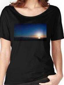 Ventura Sunset Women's Relaxed Fit T-Shirt