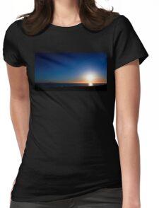 Ventura Sunset Womens Fitted T-Shirt
