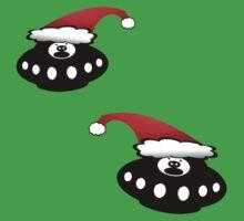 Christmas UFO's by funkyworm