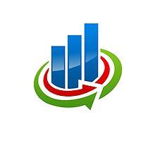 business-chart-grow-logo by mydigitall