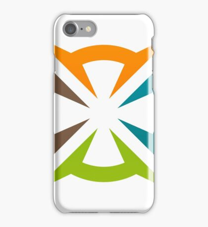 abstract-decoration-logo iPhone Case/Skin