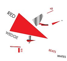 Beat the Whites with the Red Wedge by Henry Kempker