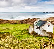 White Park Bay Cottage by Nigel R Bell