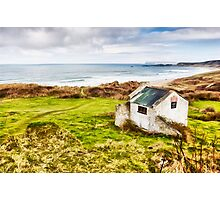 White Park Bay Cottage Photographic Print