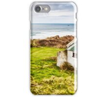 White Park Bay Cottage iPhone Case/Skin