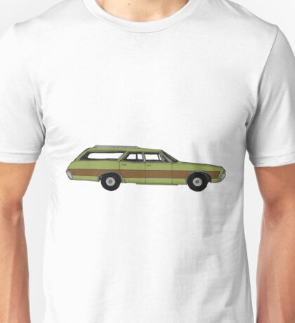 Retro Station wagon Unisex T-Shirt