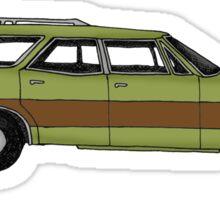 Retro Station wagon Sticker