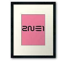 2NE1 2 Framed Print