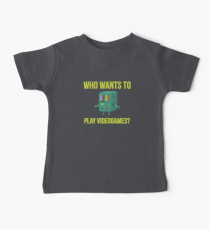 Who wants to play videogames? Baby Tee