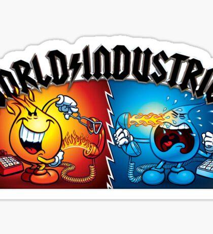 World Industries Skateboards Sticker