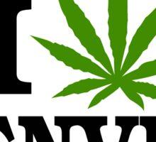 I Love Marijuana Denver Colorado Sticker