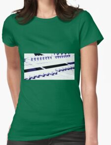 Mixing Console Womens Fitted T-Shirt