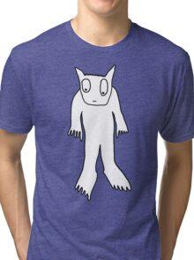 Carl is worried but fluffy Tri-blend T-Shirt
