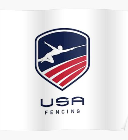 US Fencing Poster