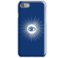 Masonic eye iPhone Case/Skin