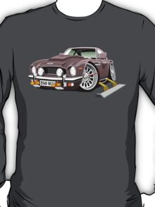 James Bond Aston Martin AM V8 caricature T-Shirt