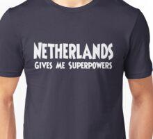 Netherlands Superpowers T-shirt Unisex T-Shirt