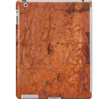 Red vintage paper background iPad Case/Skin