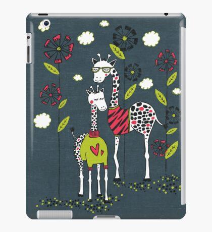 Fashion Giraffes  iPad Case/Skin