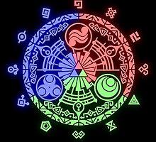 Legend of Zelda Skyward Sword Gate of Time by MrPickIes