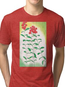 Lingonberries vector Tri-blend T-Shirt