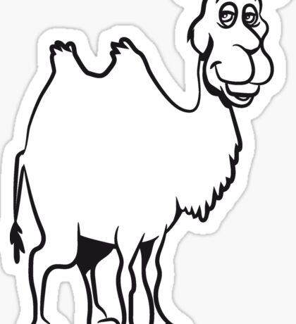 Kamel witzig tier  Sticker