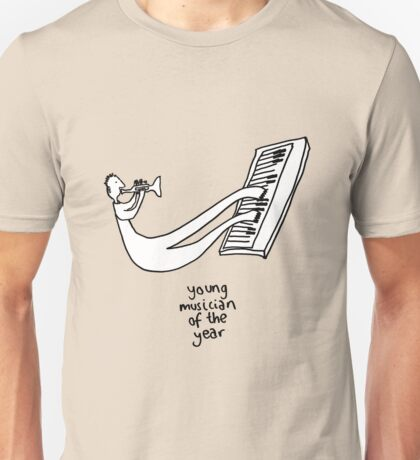Young Musician Of The Year Unisex T-Shirt