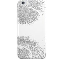 BW Abstract Leaf iPhone Case/Skin