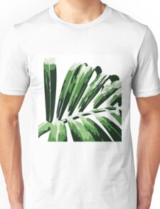 Tropical leaves Unisex T-Shirt