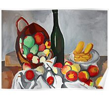 The Basket of Apples Poster