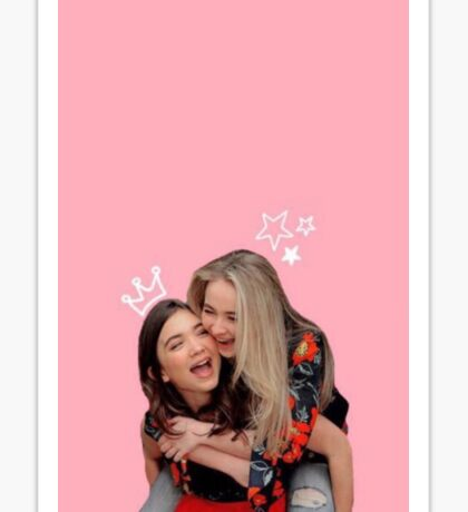 Riley & Maya (Rilaya) - Girl Meets World Sticker