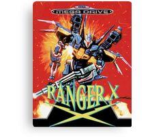 Ranger-X (Mega Drive) Canvas Print