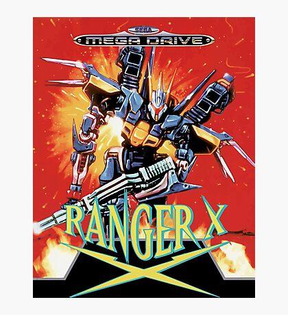 Ranger-X (Mega Drive) Photographic Print