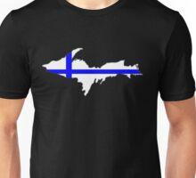Upper Peninsula UP Finnish Flag - Yooper Finn Finland Unisex T-Shirt
